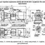 АГРЕГАТ ЭЛЕКТРОНАСОСНЫЙ АХ(-Е)125-80-250