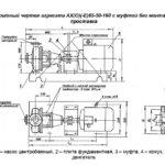 АГРЕГАТ ЭЛЕКТРОНАСОСНЫЙ АХ65-50-160